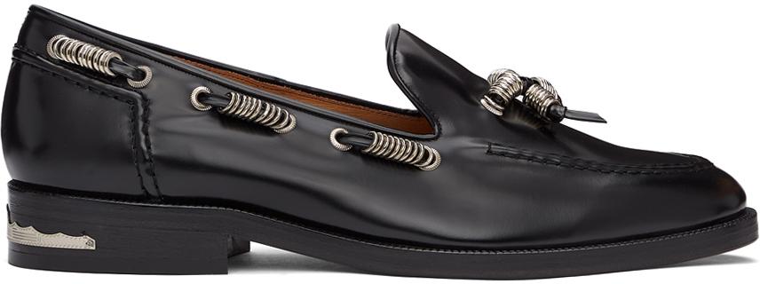 Photo: Toga Virilis Black Polido Loafers