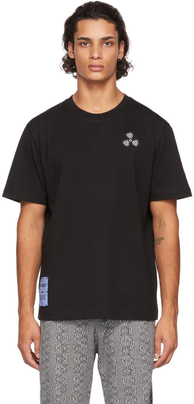 MCQ Black Relaxed T-Shirt