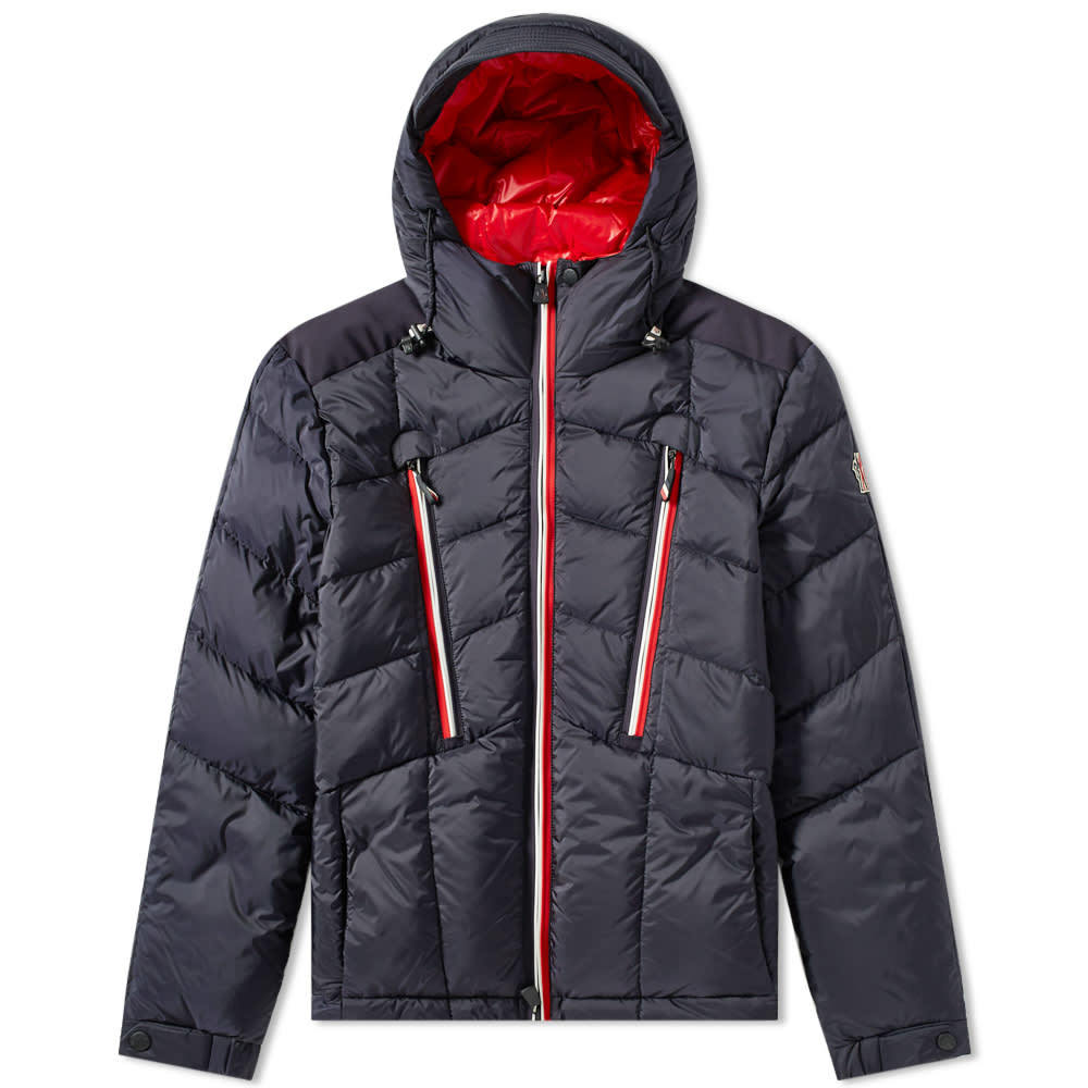 Photo: Moncler Grenoble Arnesee Hooded Down Jacket