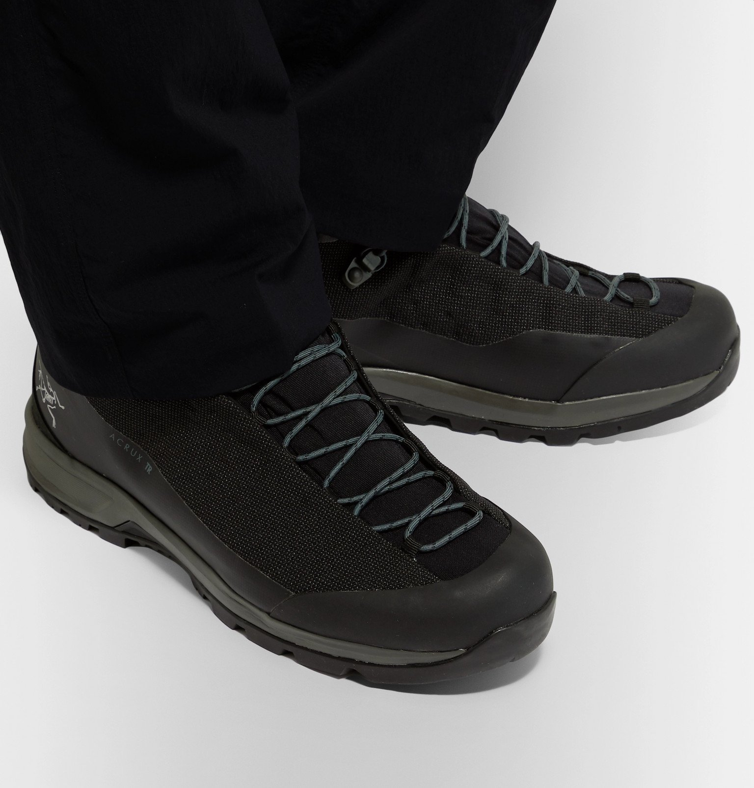 Arc'teryx - Acrux TR GTX Rubber-Trimmed SuperFabric Hiking Boots - Black