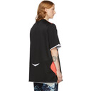 Martine Rose Black Two-Way Football T-Shirt