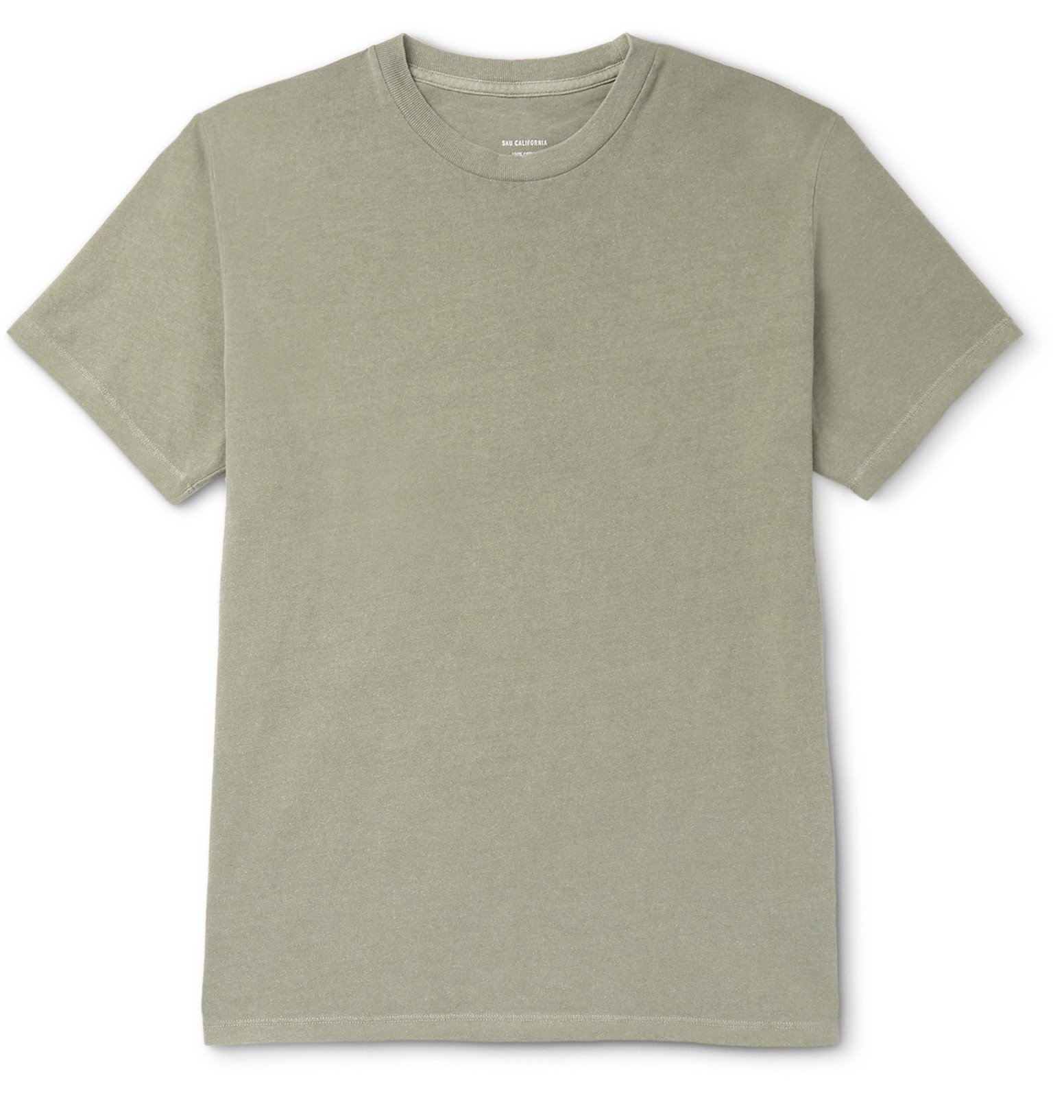 Photo: Save Khaki United - Cotton-Jersey T-Shirt - Green