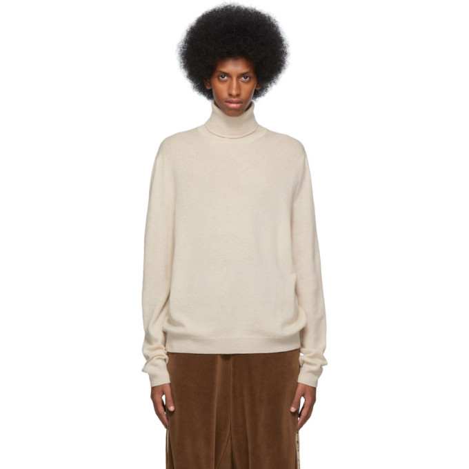 Photo: Gucci Off-White Wool Cashmere Turtleneck