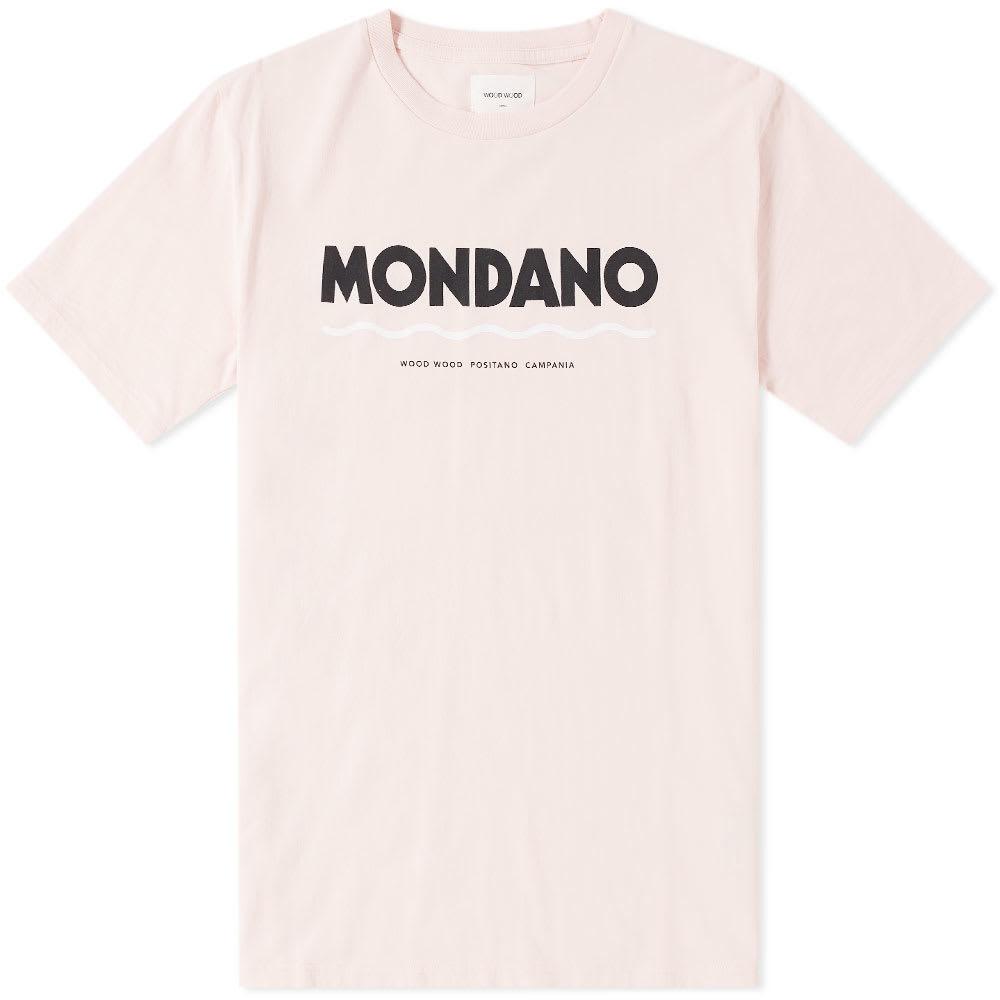Wood Wood Mondano Tee Pink
