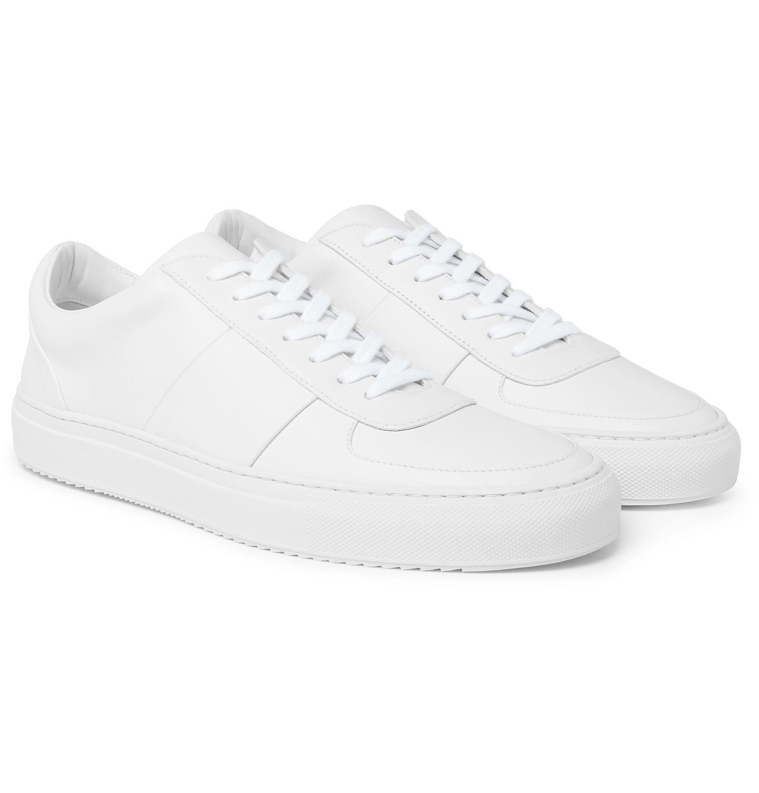Photo: Mr P. - Larry Suede Sneakers - White