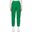 adidas Originals Green Paolina Russo Edition Striped Lounge Pants