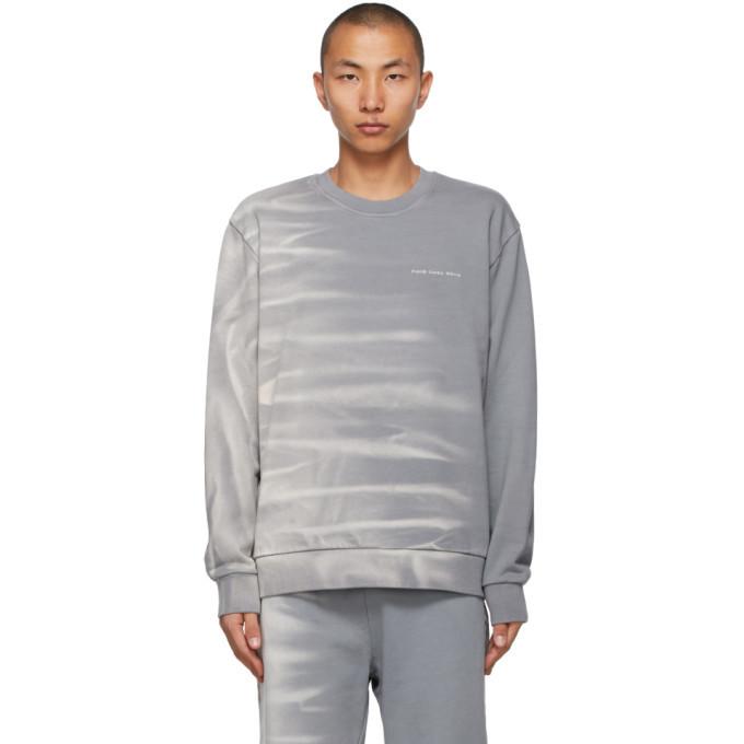 Photo: Feng Chen Wang Grey Tie-Dye Sweatshirt