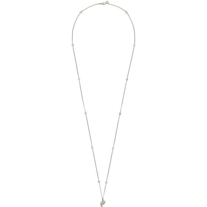 Photo: Gucci Silver Chick Necklace