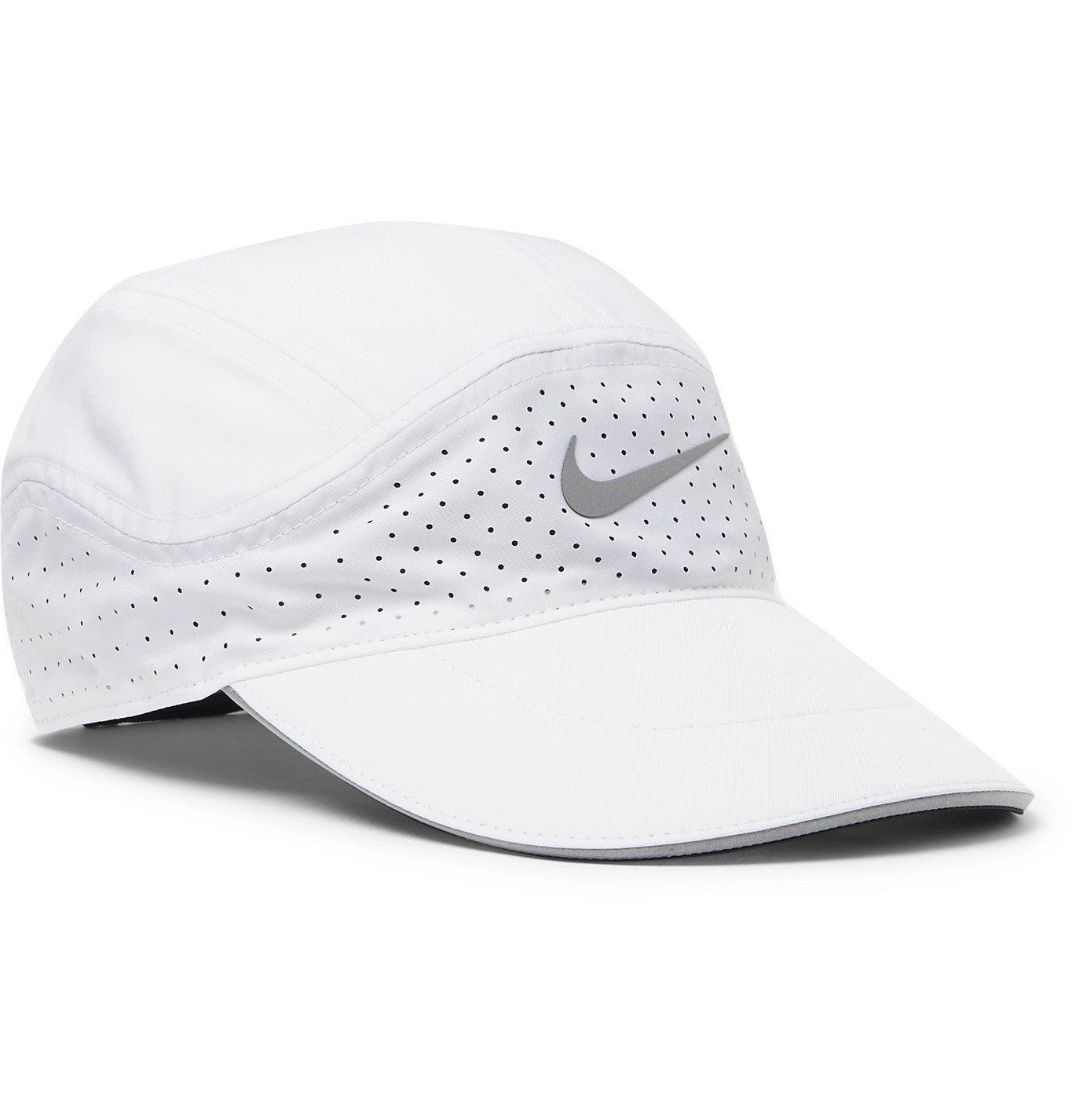 Photo: Nike Running - AeroBill Tailwind Dri-FIT and Mesh Baseball Cap - White