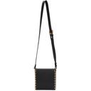 Sacai Black Classic Box Shoulder Bag