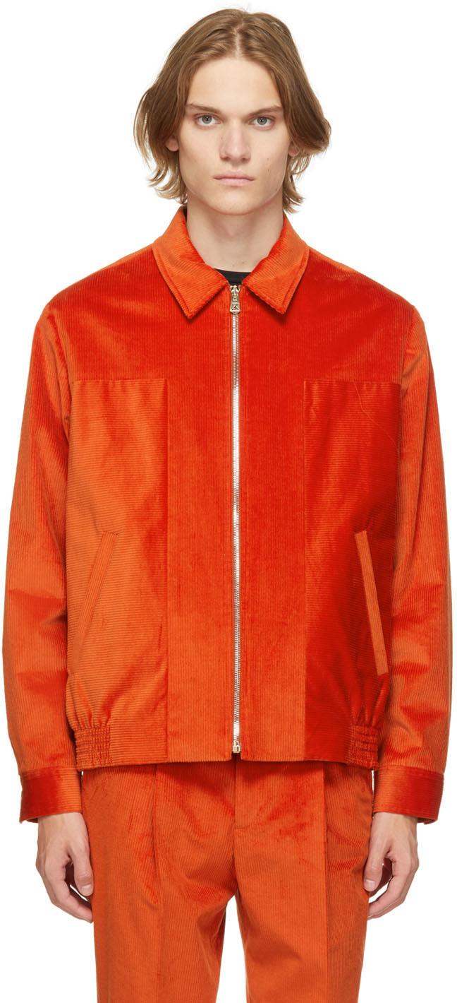 Photo: Paul Smith Orange Corduroy Jacket