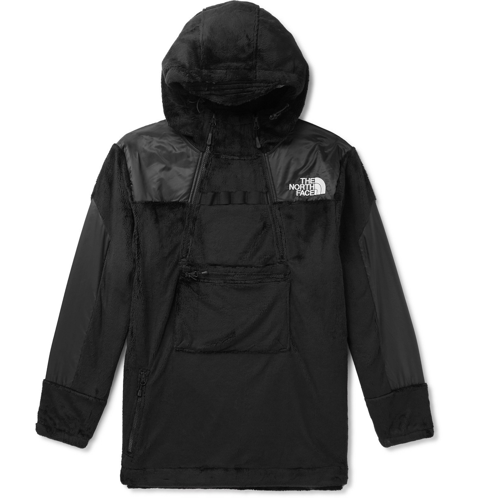 Photo: The North Face - Black Series Shell-Trimmed Fleece Jacket - Black