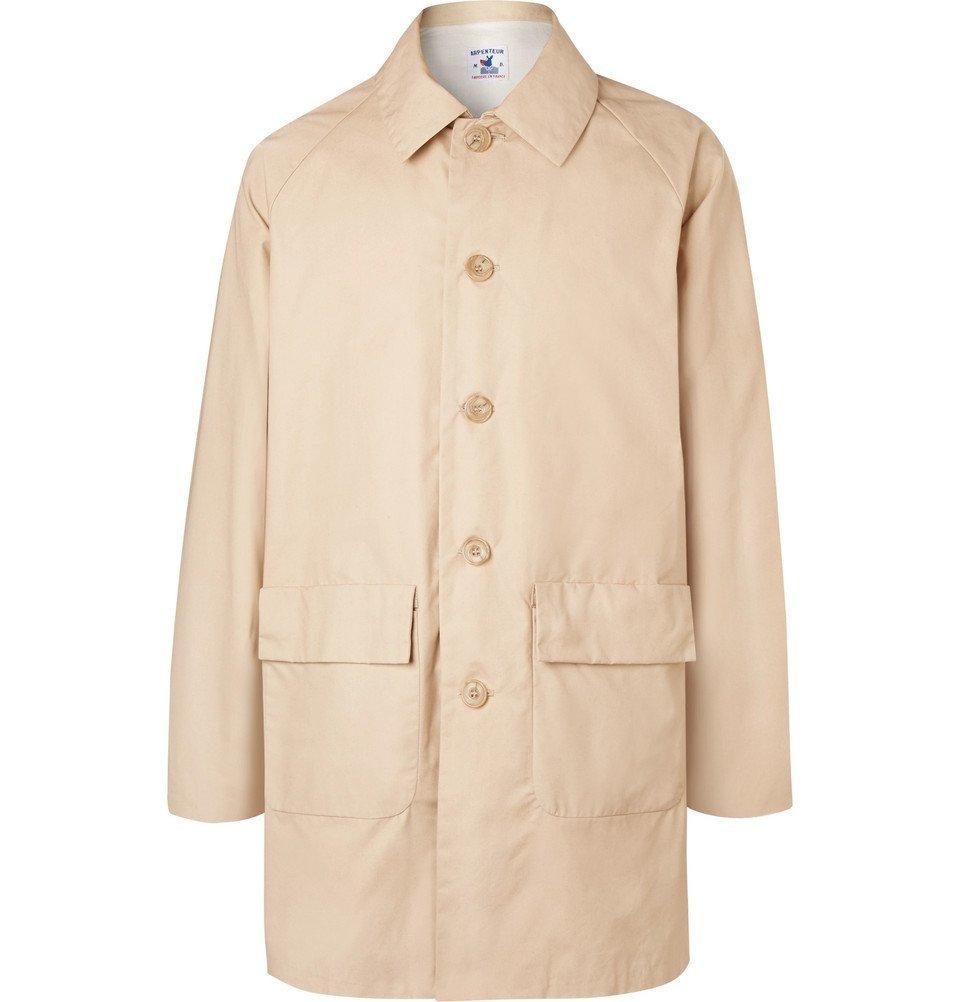Photo: Arpenteur - Cotton-Gabardine Coat - Men - Sand