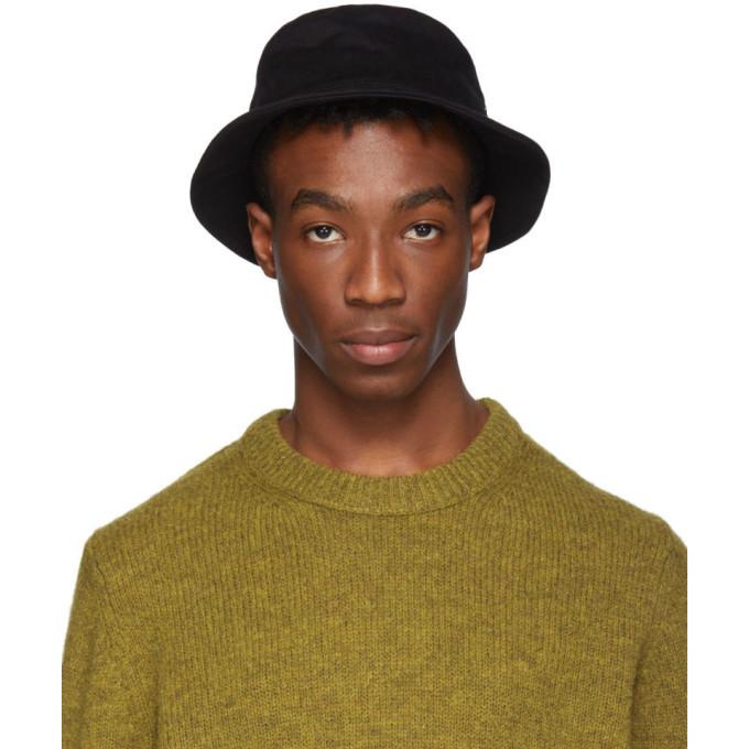 Photo: Acne Studios Black Twill Buk A Bucket Hat