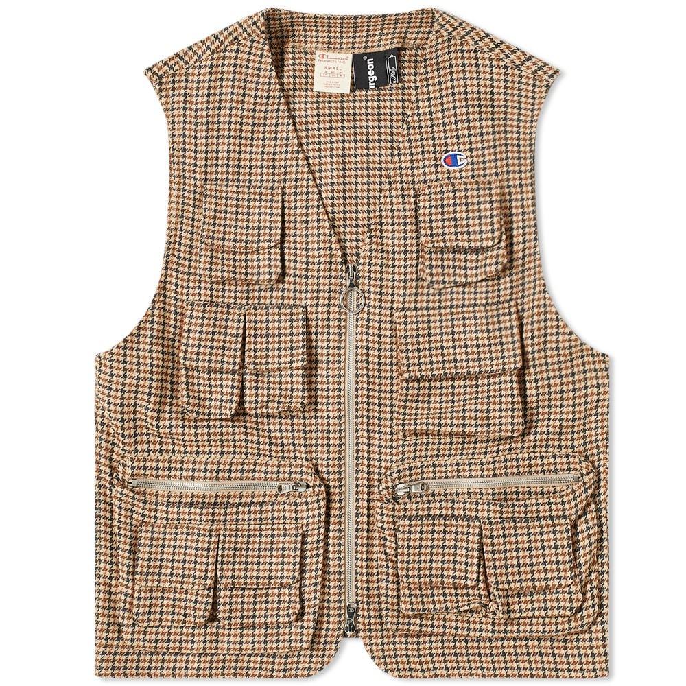Photo: Champion x Clothsurgeon Check Utility Vest