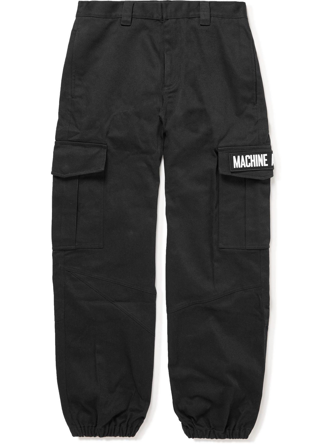Photo: MCQ - Cotton-Twill Cargo Trousers - Black