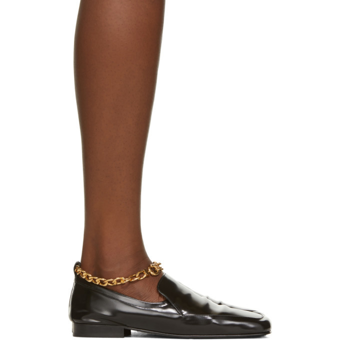 Photo: BY FAR Black Nick Loafers